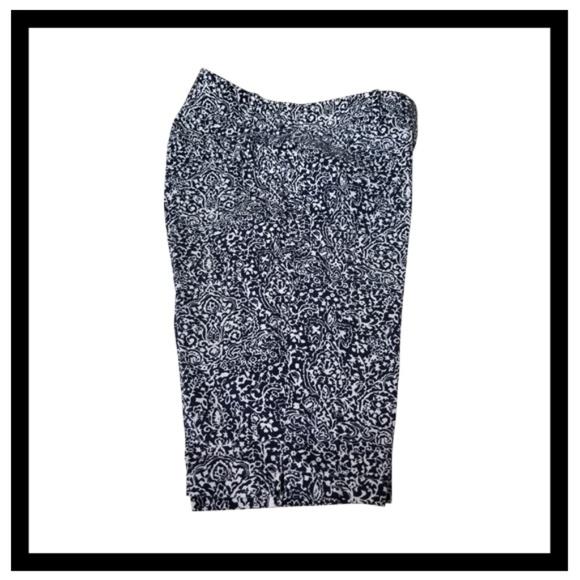 Ann Taylor Pants - Ann Taylor Women's shorts size 12 Blue/White